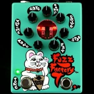 ZVex Silicon Fuzz factory 7 with added Tone