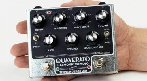 Zeppelin Design Labs Quaverato Harmonic Tremolo pedal
