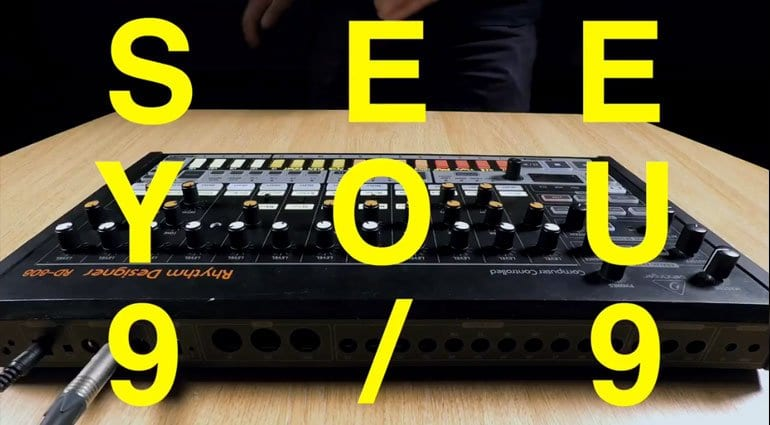 Behringer RD-808 video announcement