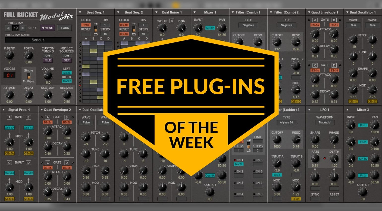 Best free plug-ins this week: ModulAir, Vintage Electric
