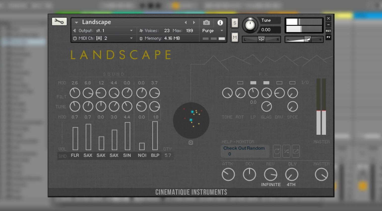 Cinematique Instruments Landscape