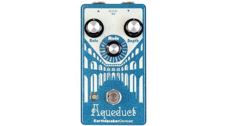 Earthquaker Devices Aqueduct Vibrato Effect Pedal Front