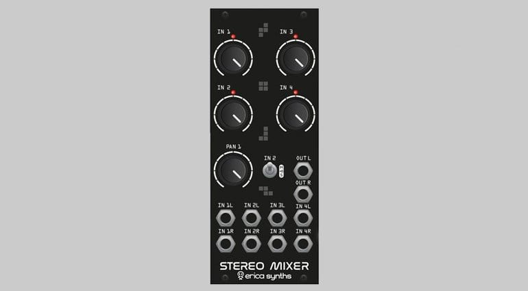 Erica Synths Stereo Mixer