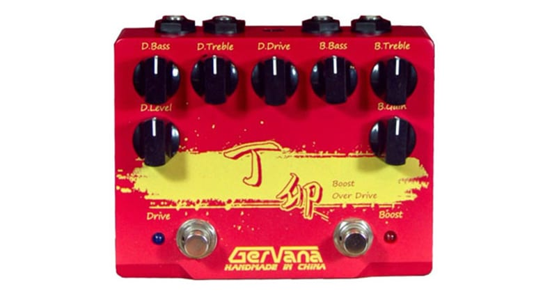 Gervana Ding Mao Boost Boutique Overdrive pedal