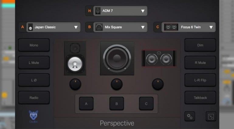 Oscillot Audio Perspective