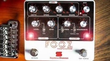 Seymour Duncan Fooz fuzz pedal