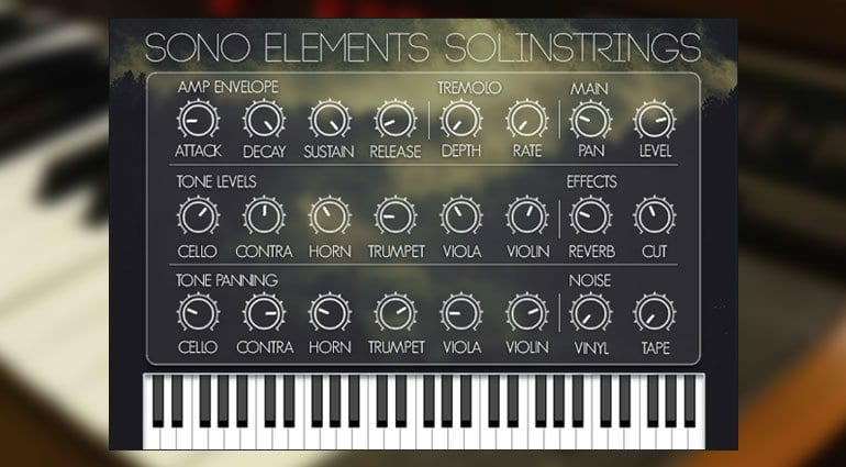 Sono Elements SolinStrings