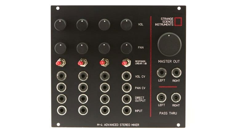 Strange Science Instruments M4 Stereo Mixer