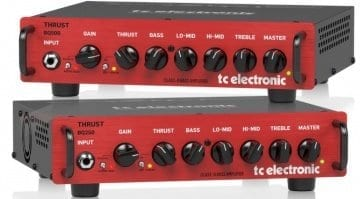 TC Electronic BQ250 and BQ500 bass amp heads
