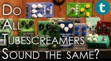 Tube Screamer Shootout