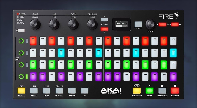 AKAI Fire FL Studio hardware controller leaked on American dealer