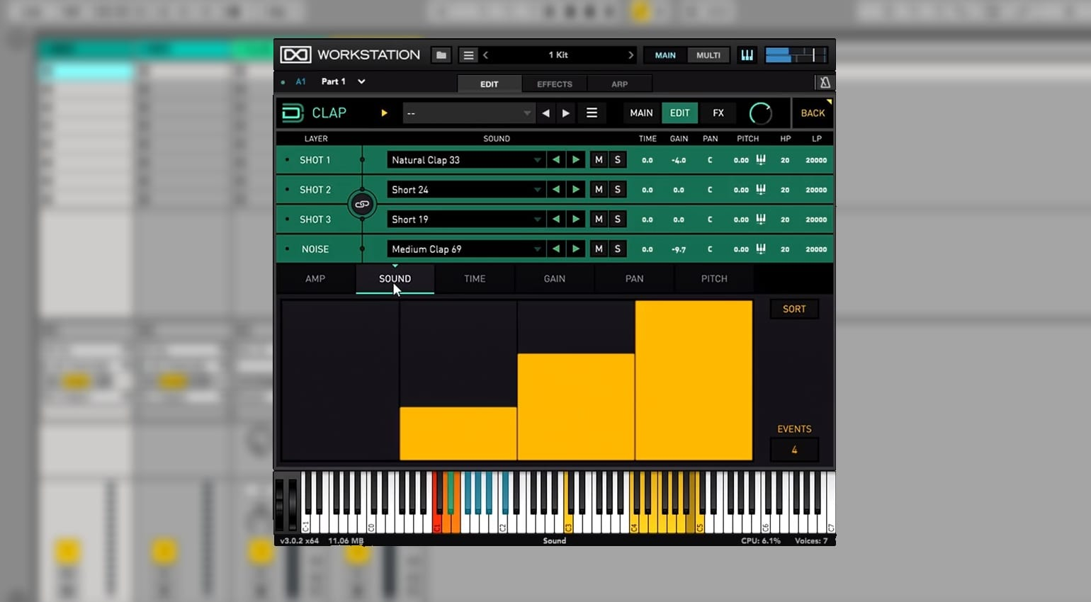UVI lets you become a Drum Designer by layering synths and samples