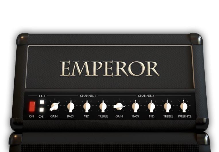 Emperor high-gain amp plug-in