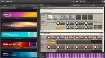 Native Instruments Kontakt 6 effects