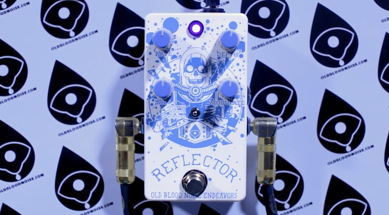 Old Blood Noise Endeavors Reflector Chorus V3 pedal