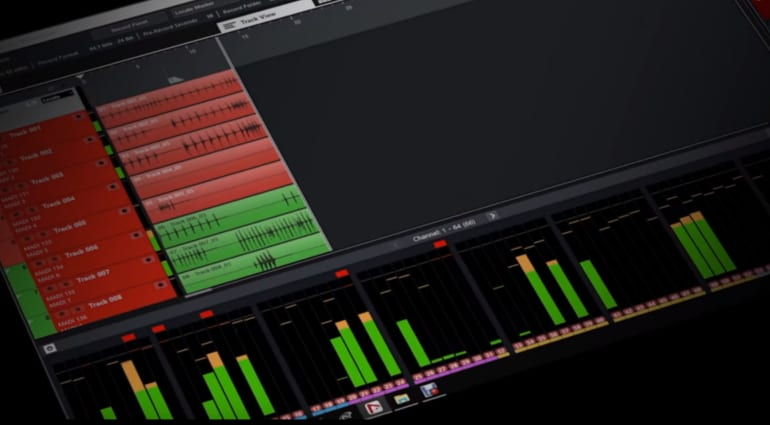Steinberg Nuendo Live 2 with metering and monitoring improvements