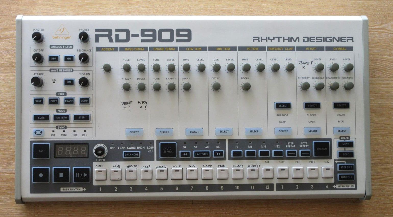 909 Day – Behringer reveal the RD-909 Rhythm Designer