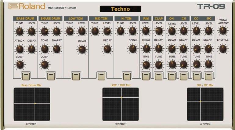 TR-09 Editor
