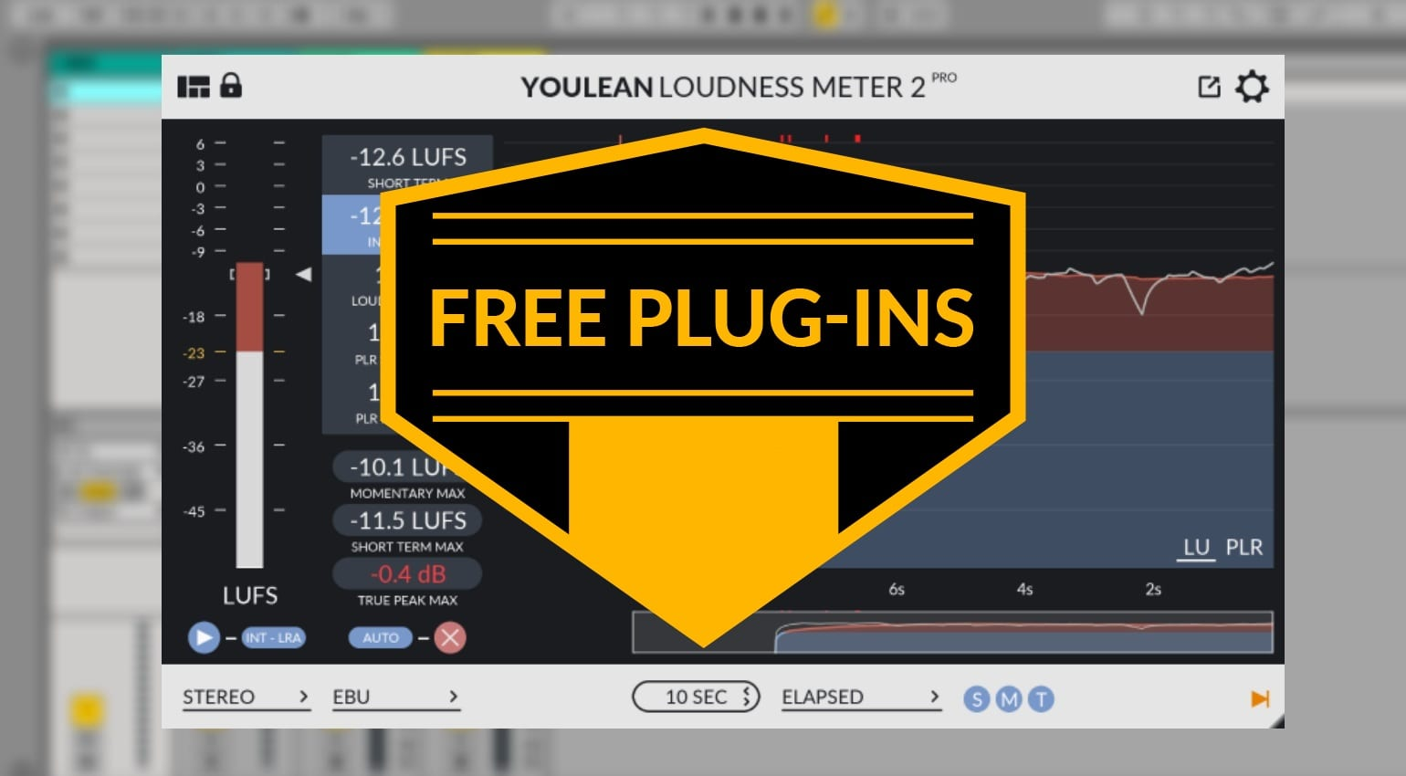 Free Plug Ins This Week Distortion Loudness Meter 2 And Pure Mono To Stereo Synthesizer Synth