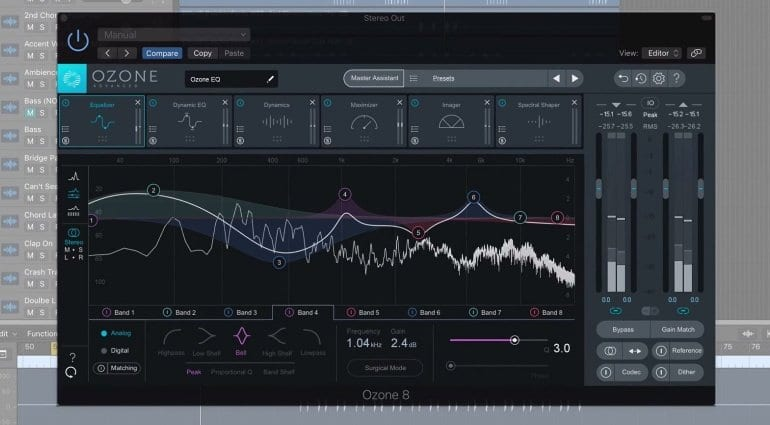 iZotope Ozone 8 screenshot
