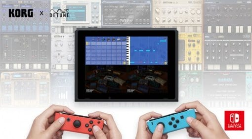 Korg Gadget 1.2 for Nintendo Switch