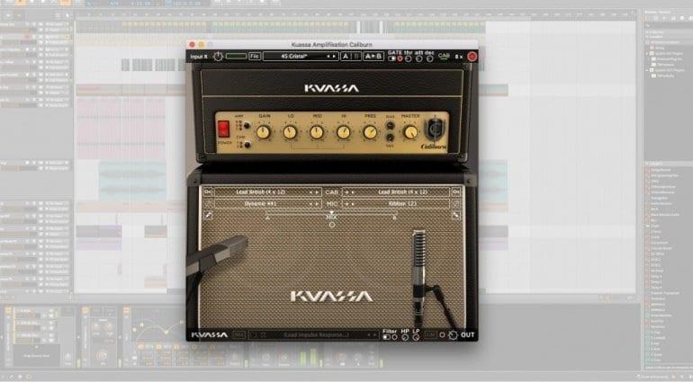 Kuassa Caliburn Marshall plug in amp emulation
