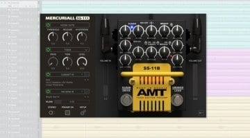 Mercuriall Audio AMT SS-11A preamp plugin