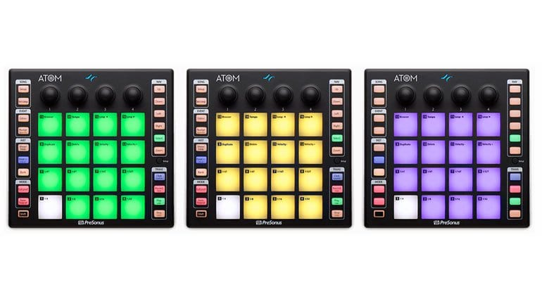 the atom small but mighty performance pad controller from presonus. Black Bedroom Furniture Sets. Home Design Ideas