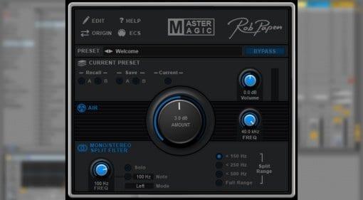 Rob Papen MasterMagic mastering plug-in