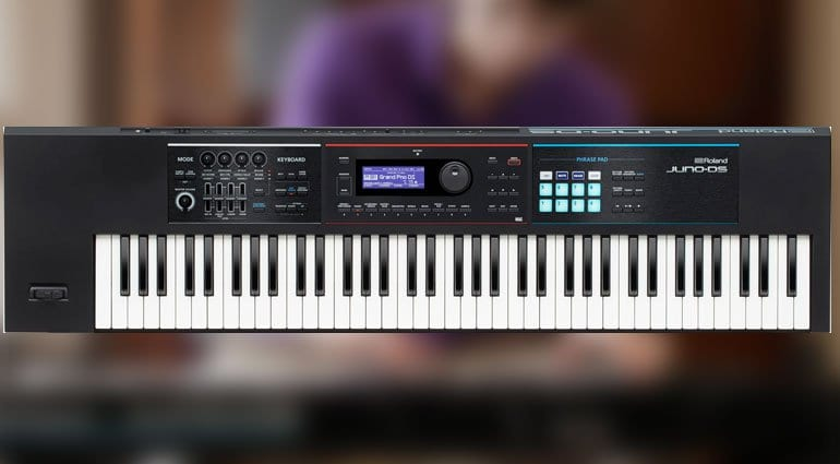 Roland makes the JUNO-DS61 slightly larger: Enter the JUNO