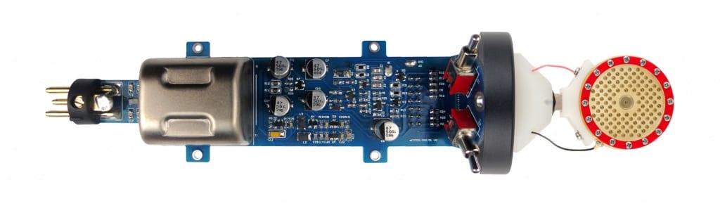 sE 2200 condenser microphone internal vew