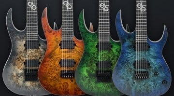 Solar Guitars S1.6 and S1.6ET Limited Edition