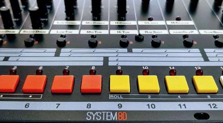 System80 880 Drum Machine