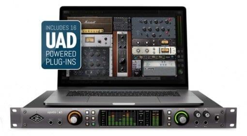 Universal Audio Apollo X8 Thunderbolt 3 interface