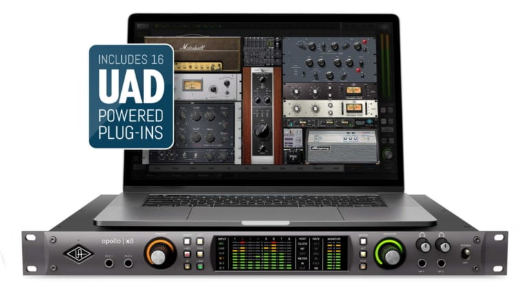 Universal Audio Apollo X8 Thunderbolt 3 interface