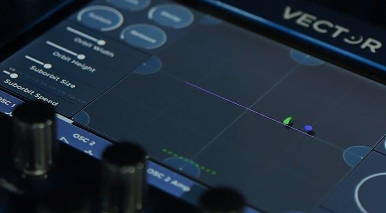 Vector Synth screen