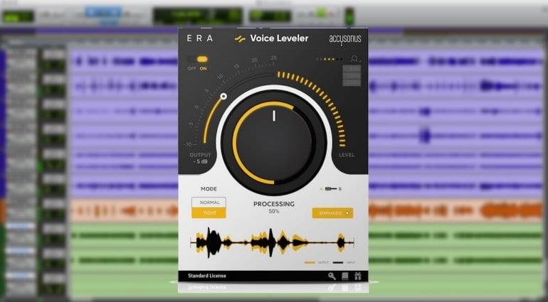 Accusonus Era Voice Leveler plug-in