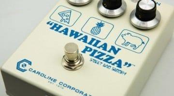 Caroline Guitar Company Hawaiian Pizza fuzz/drive pedal