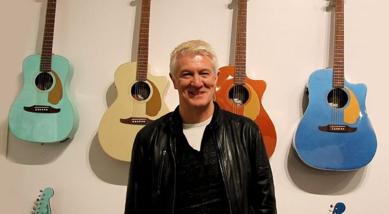 Fender CEO Andy Mooney reveals new American acoustic guitar range for 2019