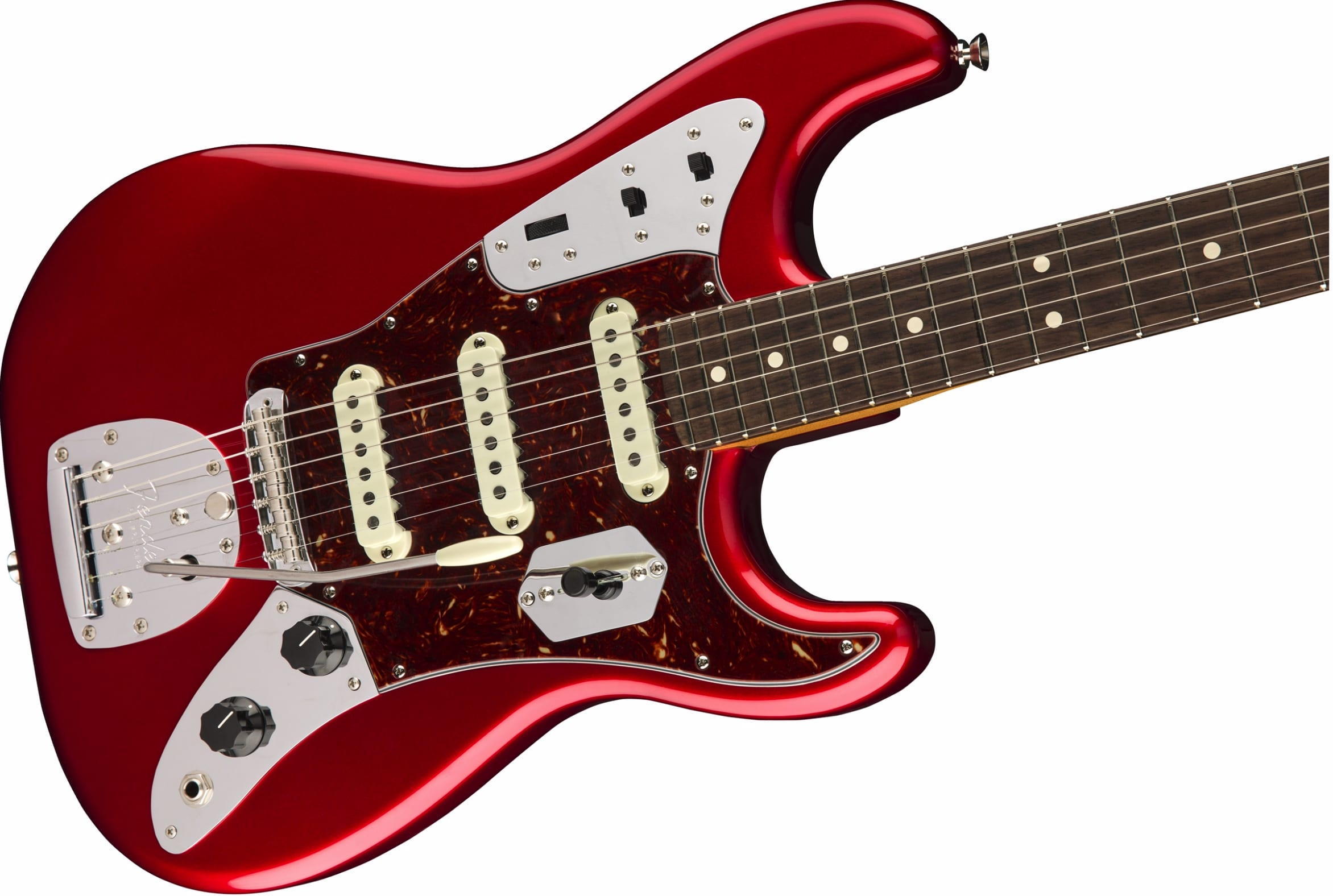 Fender Jaguar Strat with Jaguar style trem