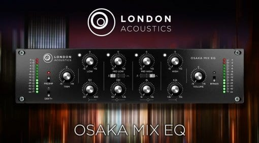 London Acoustics Osaka Mix EQ