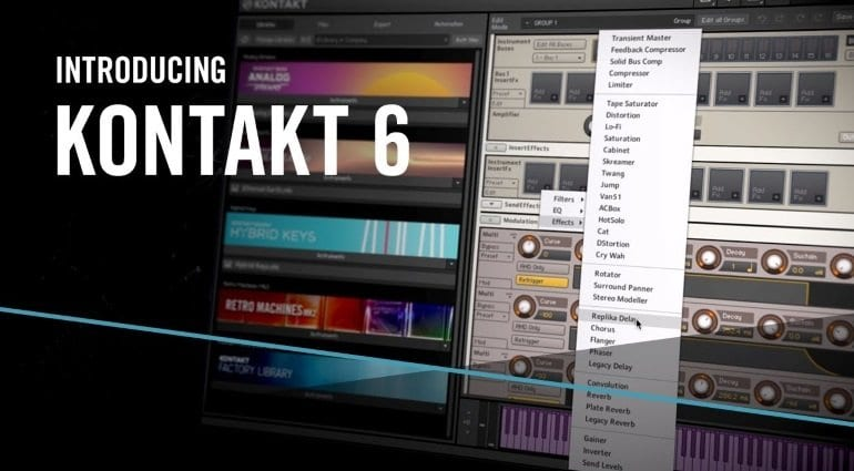 The 7-year wait is over: NI Kontakt 6 has landed with new