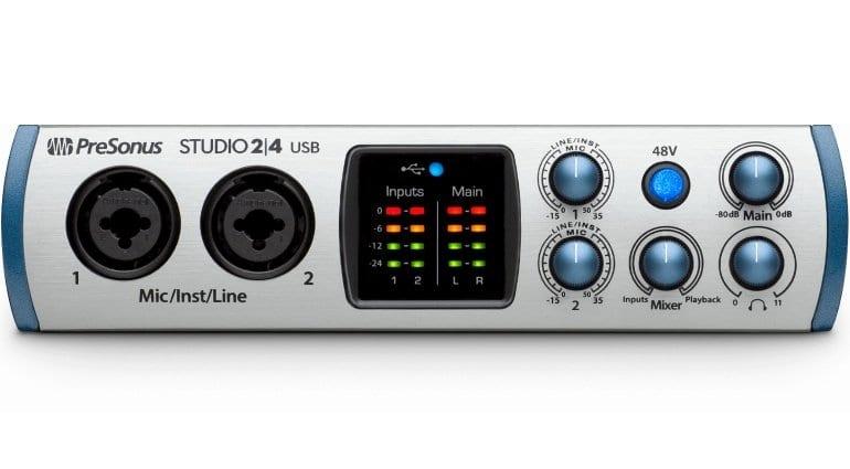 PreSonus Studio 24 USB Front