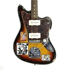 Sonic Youth Fender Sunburst Jazzmaster