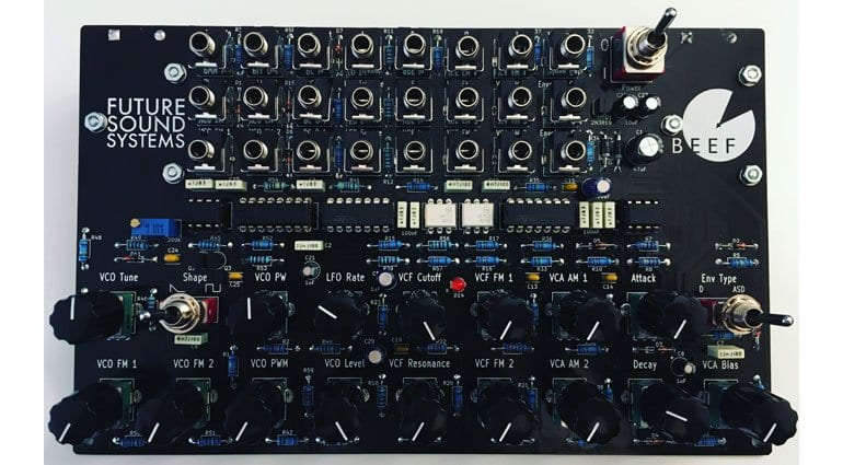 Brunswick: an affordable, naked DIY synthesizer from Future