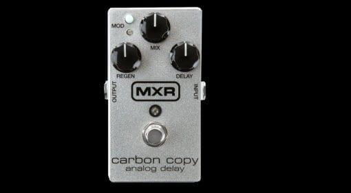delay MXR Carbon Copy 10th Anniversary Edition pedal