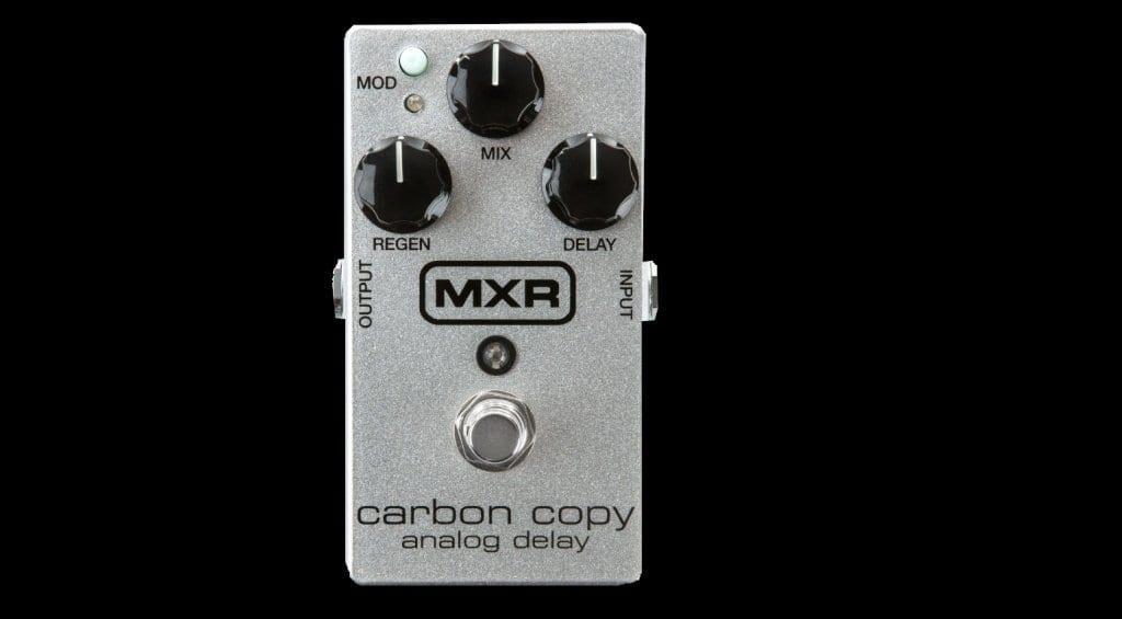 mxr carbon copy 10th anniversary edition the silver fox of delay