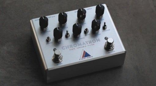 3 Leaf Audio Chromatron Variable State Filter pedal