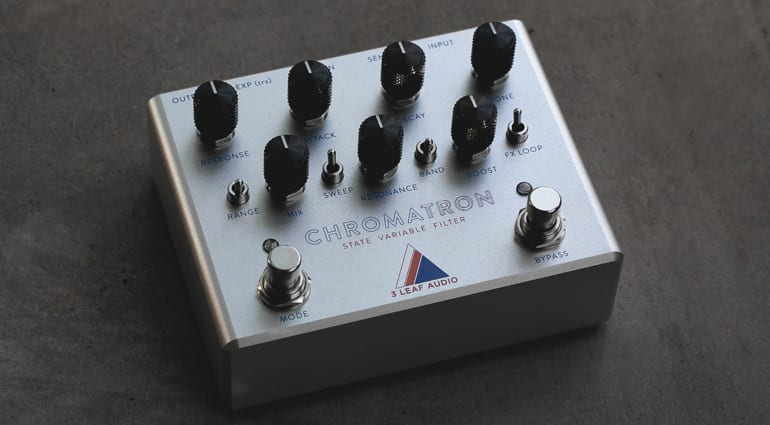 3 Leaf Audio Chromatron Variable State Filter pedal