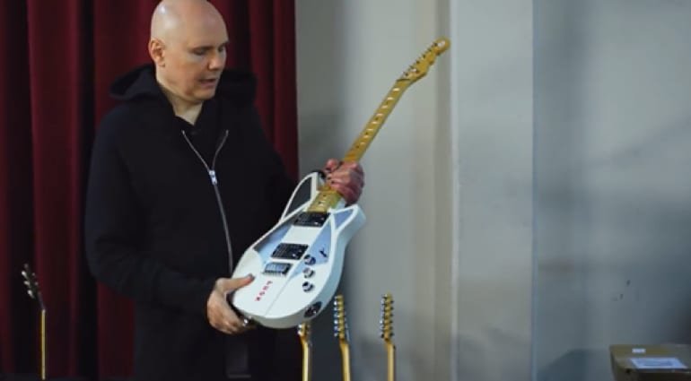 Billy Corgan Reverend Guitar - White sounds better
